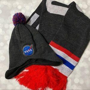 NASA Hat and Scarf